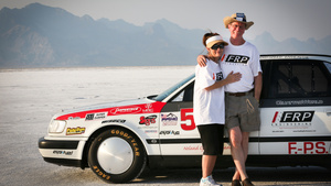 The World's Fastest Sedan: 260 MPH 1992 Audi S4 at Bonneville!