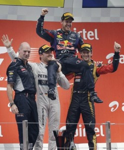 FORMULA 1: Vettel is F1 Champion for the fourth time in a row. Oct 27, 2013