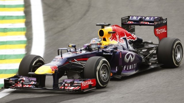 FORMULA 1: Sebastian Vettel wins record ninth consecutive race in Brazil. Nov 24, 2013