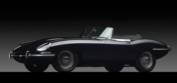 Series 1 Jaguar E-type sets auction record at $467,500