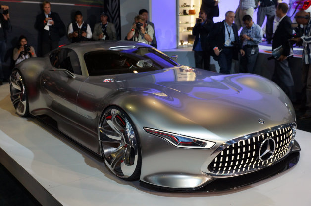 Mercedes AMG Vision Gran Turismo Concept is long, low, wide [w/video]