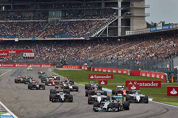 FORMULA 1- German Grand Prix officially cancelled from 2015 Formula 1 calendar