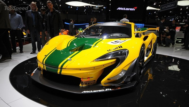 McLaren Reportedly Planning Street-Legal P1 GTR