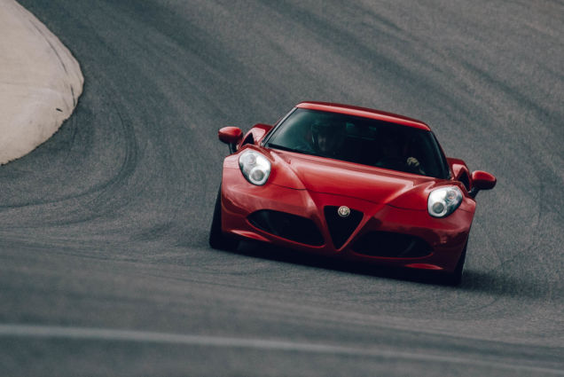 What It's Like To Drive An ALFA ROMEO 4C On A Racetrack
