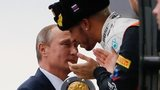 FORMULA 1: Lewis Hamilton wins incident-packed Russian Grand Prix, Perez third